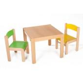Židličky, stolky