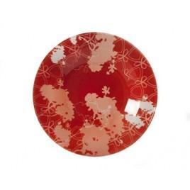 BANQUET VALENTYNE talíř skleněný hluboký 24,1cm 05HTRTT0928