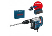 BOSCH GSH 5 CE Professional Sekací kladivo + GWS 9-125 + taška na nářadí 0615990J9A