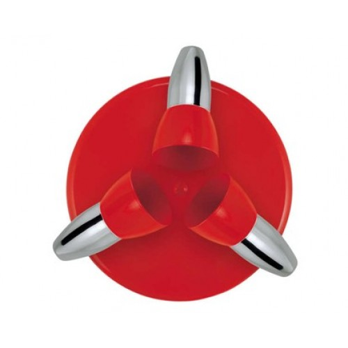 VETRO-PLUS Spot Dora červený 3 x E14 09DORA03R