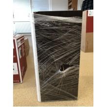 VÝPRODEJ KOLO Rekord skříňka pod umyvadlo hranaté, 31 cm, závěsná, pravá, korpus wenge 89388000 OBOUCHANÉ, POŠKOZENÁ KRABICE