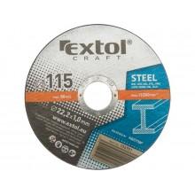 EXTOL CRAFT kotouče 115x1,0x22,2mm, řezné na kov 5ks 106901