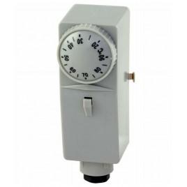 REGULUS BB1-1000 provozní termostat příložný, zvýšrná citlivost, 10-90°C + teplovod. pasta 10811