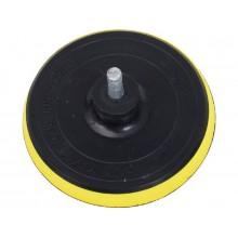 EXTOL CRAFT nosič brusných výseků do vrtačky - suchý zip, s vloženou vrstvou pěny 108425