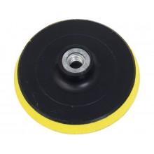 EXTOL CRAFT nosič brusných výseků-M14, suchý zip, 125mm, s vloženou vrstvou pěny 108525