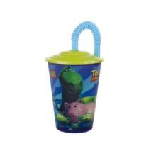 BANQUET pohárek 450ml s víčkem, Toy Story L 1213TO33571