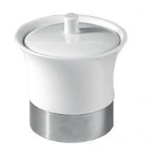 SAPHO B&K 1308-34 JUSTIME 1 dóza na postavení, keramika/nerez