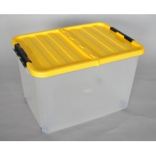 HEIDRUN Box úložný pojízdný 34 x 52 x 36,5 cm, 45 l, modrá 1610m