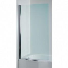 Jika TIGO vanová zástěna zakřivená, pravá 150x80cm, transparent.sklo H2572110026681