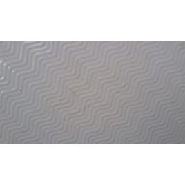 VÝPRODEJ RONAL WMR Marblemate čtvrtkruhová vanička, 90x90cm, R 55, bílá RWMR55090004 POŠKRÁBANÁ
