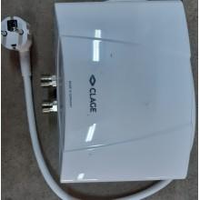 VÝPRODEJ CLAGE Ohřívač vody M3-O 3,5kW/230V montáž nad umyvadlo 1500-17113 POUŽITÉ!!