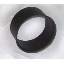 Zděř kouřovodu 150mm (1,5) černá