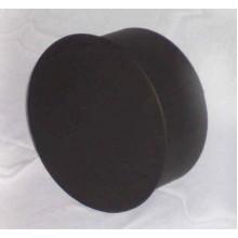 Komínová záslepka 150mm (1,5) černá