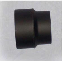 Přechodka kouřovodu pr. 160 mm na 150 mm (1,5) černá