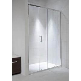 Jika CUBITO PURE sprchové dveře 1200x1950 dvojdílné transparentní sklo H2422440026681