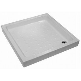 Jika RAVENNA keramická vanička 80x80 čtverec bílá 8.5208.1.000.000.1