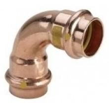 VIEGA CU Profipress plyn, oblouk 2616 22/90 345488V