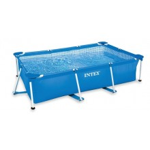 INTEX Bazén Rectangular Metal Frame Pool, 220 x 150 x 60 cm, bez filtrace 28270NP