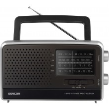 SENCOR SRD 2806 FM/AM/SW1/SW2 Rádio 35052310