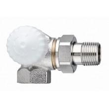 """HEIMEIER radiátorový ventil V-exact II DN 15-1/2"""" úhlový, levý 3713-02.000"""