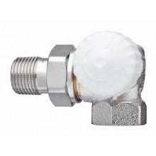 """HEIMEIER radiátorový ventil V-exact II DN 10-3/8"""" úhlový, pravý 3714-01.000"""