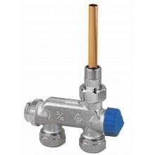 HEIMEIER radiátorový ventil E-Z přímý, dvoutrubková s. 3878-02.000