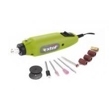 EXTOL CRAFT mini bruska / vrtačka přímá s transformátorem, 12W 404120