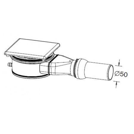 kaldewei ka 120 4092 odtokov souprava pro esr ii a. Black Bedroom Furniture Sets. Home Design Ideas