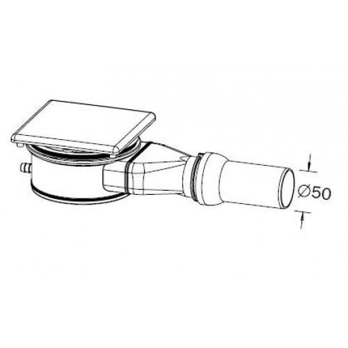 kaldewei ka 120 4092 odtokov souprava pro esr ii a conoflat 687770710001. Black Bedroom Furniture Sets. Home Design Ideas