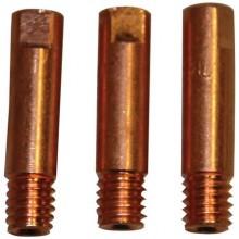 GÜDE příslušenství ke svářecímu kabelu - proudová tryska Cu 0,8mm, sada 41614