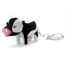 VETRO-PLUS LED klíčenka kráva 44GM9008-8