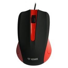 YENKEE YMS 1015RD Myš USB Suva červená 45010821