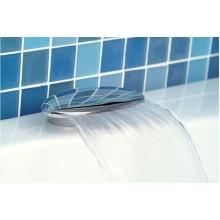 POLYSAN Výtoková hubice na okraj vany, 170mm, chrom 48B100