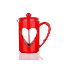 BANQUET Konvice na kávu Darby 800ml červená 49B040R