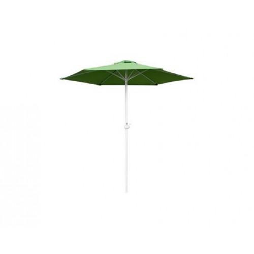 HAPPY GREEN Slunečník s kličkou 230 cm světle zelená, 50EAU003ALG