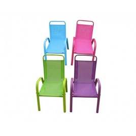 HAPPY GREEN Dětská zahradní židle stohovatelná,zelená 50XT2930AZ