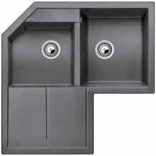BLANCO Metra 9 E dřez Silgranit aluminium 515567