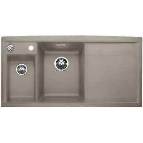 blanco axia ii 6 s d ez silgranit tartufo lev 517292. Black Bedroom Furniture Sets. Home Design Ideas