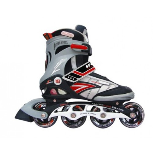 SPORTWELL In-line brusle RED vel. 43 51PW148IR43