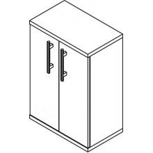 SAPHO BEATA 52090 skříňka spodní 50x72,5x30cm, wenge/bílá