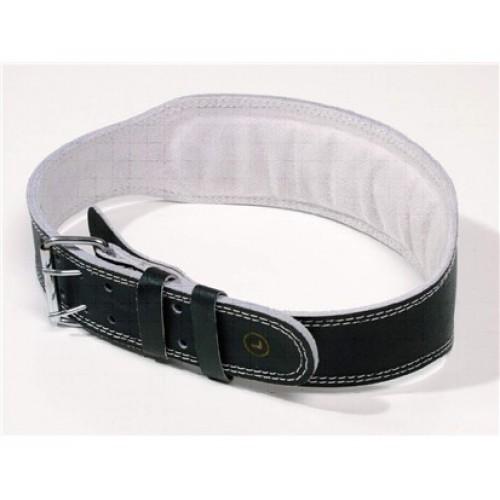 SPORTWELL Pás kožený na silová cvičení a vzpírání šíře 10 cm, velikost L 52KOZPML