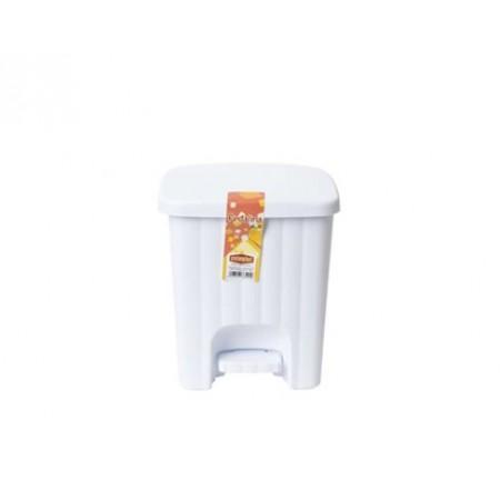 Koš odpadní nášlapný 4,5 L bílý 5538500W