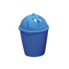 VETRO-PLUS Odpadkový koš 8 L, výklopné víko, víko v provedení Slon 55478E