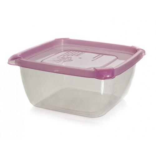BANQUET Dóza plastová 1,5 L s barevným víčkem 557421