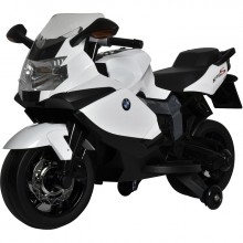 BUDDY TOYS BEC 6010 Elektrická motorka BMW černo-bílá 57000401
