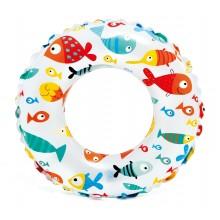 INTEX Nafukovací kruh51 cm, rybičky 59230NP