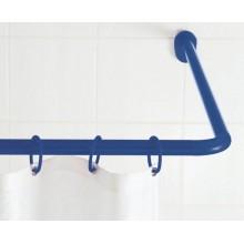 SAPHO Rohová univerzální sprchová tyč, bílá 59501