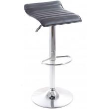 G21 Barová židle Fatea koženková, prošívaná černá 60023090