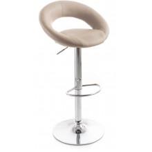 G21 Barová židle Orbita koženková kafe 60023093