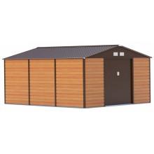 G21 Zahradní domek GAH 1300 - 340 x 383 cm, hnědý 63900584